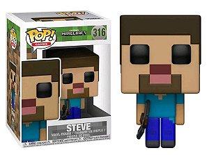 Funko Pop Minecraft Steve #316
