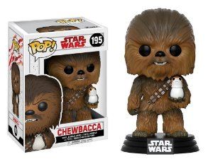 Funko Pop Star Wars Chewbacca E Porg #195