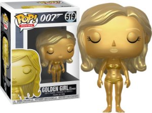 Funko Pop 007 James Bond Golden Girl #519