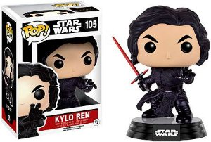 Funko Pop Star Wars Kylo Ren Fighting Pose #105