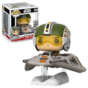 Funko Pop Star Wars Wedge Antilles With Snow Speeder #219