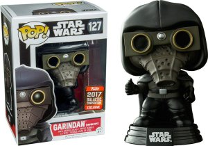 Funko Pop Star Wars Garindan Empire Spy Exclusivo Galactic Convention #127
