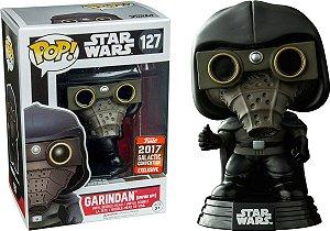Funko Pop Star Wars Garindan Empire Spy Exclusivo Galatic Convention #127