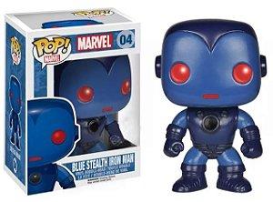 Funko Pop Marvel Blue Stealth Iron Man Exclusivo #04