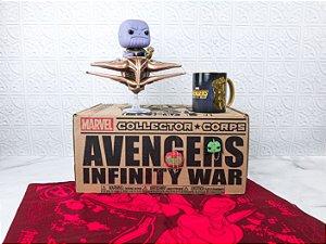 Funko Box Marvel Corps Avengers Guerra Infinita Infinity War Thanos