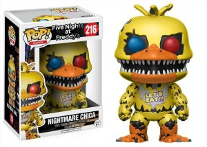 Funko Pop Five Nights At Freddys Nightmare FNAF Chica #216