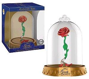 Funko Pop Disney A Bela e a Fera Dome Enchanted Rose Exclusiva