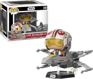 Funko Pop Rides Star Wars Luke Skywalker with X-Wing #232