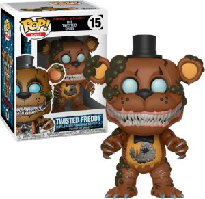 Funko Pop Five Nights At Freddy FNAF Twisted Freddy #15