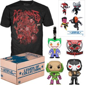 Funko Box Dc Most Wanted Legion Of Collectors