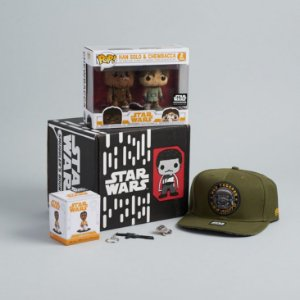 Funko Box Star Wars Smugglers Bounty Han Solo Exclusivo
