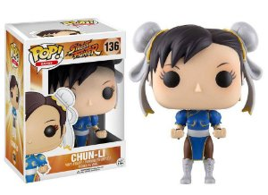 Funko Pop Street Fighter Chun Li #136