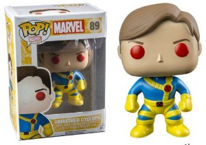 Funko Pop Marvel Unmasked Cyclops Exclusivo #89