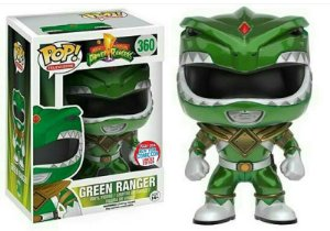 Funko Pop Power Rangers Ranger Verde Green Exclusivo #360