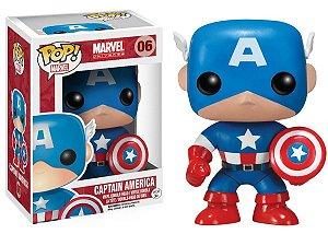 Funko Pop Marvel Capitão América #06