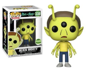 Funko Pop Rick And Morty Alien Morty #338 Exclusivo Eccc 18