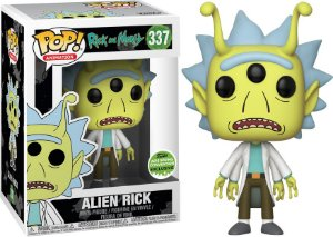 Funko Pop Rick And Morty Alien Rick #337 Exclusivo Eccc 18