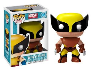 Funko Pop Marvel Wolverine Brown #05