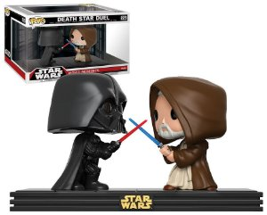Funko Pop Star Wars Movie Moments Death Star Duel Darth Vade vs Obi Wan #225