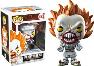 Funko Pop IT A Coisa Pennywise Exclusivo #473