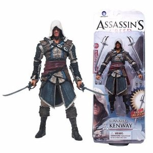 Assassins Creed 3 Edward Kenway Mcfarlane Action Figure