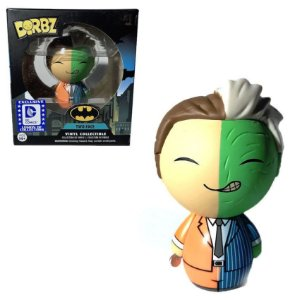 Funko Dorbz Two Face Duas Caras DC Batman Villains Exclusivo Legion of Collectors