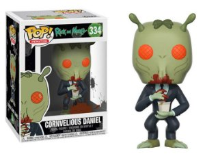 Funko Pop Rick and Morty Cornvelious Daniel #334