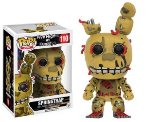 Funko Pop Five Nights At Freddy FNAF Springtrap #110