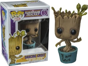 Funko Pop Marvel Guardiões da Galaxia Dancing Groot Exclusivo #65