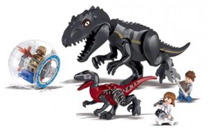 Bloco de Montar Set Jurassic World Indoraptor