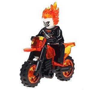 Bloco de Montar Marvel Motoqueiro Fantasma