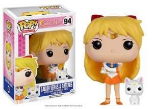 Funko Pop Sailor Moon Sailor Venus e Artemis #94