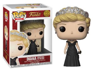 Funko Pop Royal Family Familia Real Diana Princess of Wale #03
