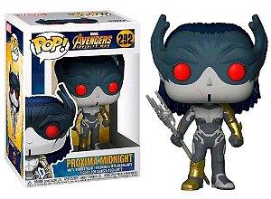 Funko Pop Marvel Vingadores Guerra Infinita Proxima Midnight #292