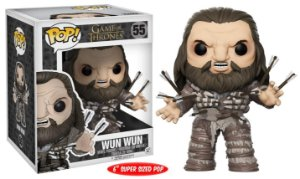 "Funko Pop Game of Thrones Wun Wun 6"" Super Size #55"
