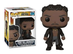 Funko Pop Marvel Pantera Negra Black Panther Eric Killmonger #386