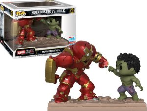 Funko Pop Marvel Movie Moments Hulkbuster vs Hulk Nycc 18 #394