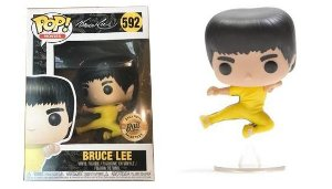Funko Pop Bruce Lee Flying Kick Exclusivo #592
