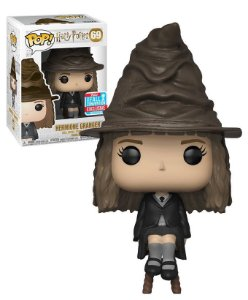 Funko Pop Harry Potter - Hermione Granger With Sorting Hat NYCC 18 #69