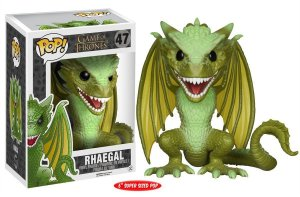 Funko Pop Game of Thrones Rhaegal Super Size #47