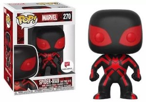 Funko Pop Marvel Spider-Man Big Time Suit Exclusivo #270
