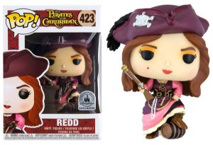 Funko Pop Disney Piratas do Caribe Redd Exclusivo #423