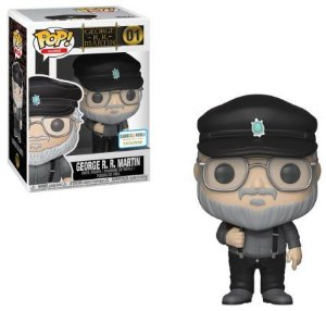 Funko Pop Game Of Thrones George RR Martin Exclusivo #01