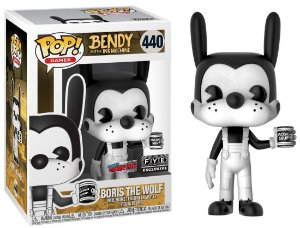 Funko Pop Bendy And The Ink Machine Boris The Wolf Exclusivo #440