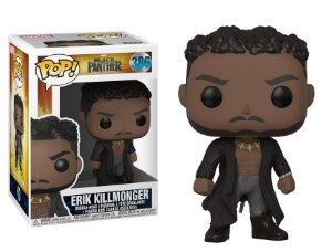 Funko Pop Marvel Pantera Negra Black Panther Erik Killmonger #386
