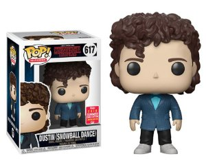 Funko Pop Stranger Things Dusin Snowball Dance Exclusivo SDCC18 #617