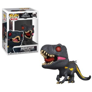 Funko Pop Jurassic World Reino Ameaçado Indoraptor #588