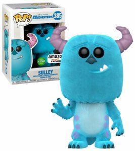 Funko Pop Disney Monsters Sulley Exclusivo Flocked #385