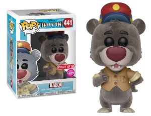 Funko Pop Disney Telespin Baloo Exclusivo Flocked #441