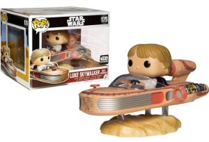 Funko Pop Star Wars Luke Skywalker With Speeder Exclusivo Smugglers Bounty #175
